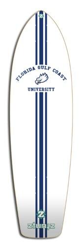テープ放射能湿気の多いZtuntZ Skateboards Florida Gulf Coast University Transporter Skateboard Deck, 8.25 x 30-Inch/17-Inch WB, Blue/White by ztuntz skateboards