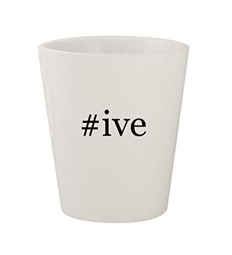Price comparison product image #ive - Ceramic White Hashtag 1.5oz Shot Glass