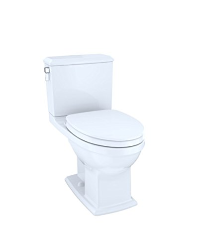 TOTO CT494CEFGT40-01 Cotton White One-Piece Toilets by TOTO