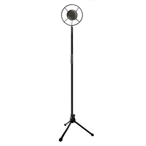 [NAVA Vintage Microphone Hollywood Collapsible Iron Model Props Wedding Photographing] (Vintage Halloween Costumes From The 80s)