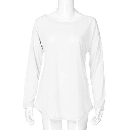 Dames Femmes Sweat À Longues Hiver Pardessus Capuche Hauts shirt Taille Small coloré Outwear De Rayé Manches Automne Set Blanc Mode Et Chic Blanc 6wxttv