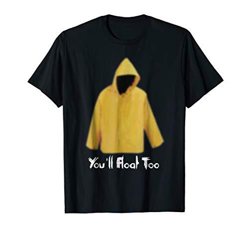 Yellow Rain Coat You'll Float Too 2017 Horror T -