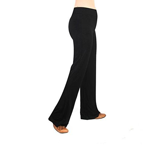 db610c9966eb8 COMMENCER Women's Active Workout Bootleg Yoga Running Pants/Active Slim Fit Bootleg  Yoga Pants