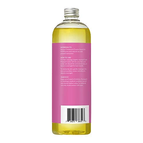 Castor Oil for Hair Growth, Eyelashes, Scar Removal and