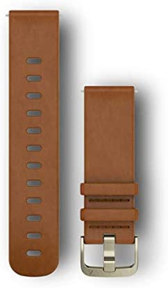 Garmin Quick Release Band, Light Brown Leather Band, 010-12691-02