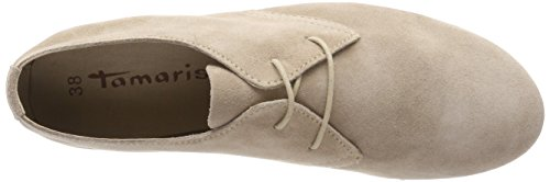 Oxfords Taupe Damen 23203 Tamaris Beige wfTqHqE