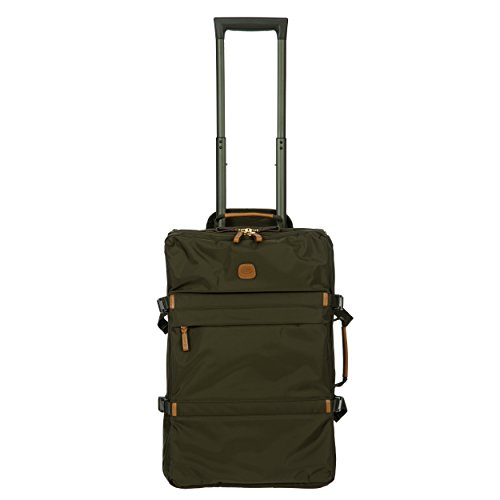 Bric Bag - Bric's X-Bag/x-Travel 2.0 Ultralight 21 Inch International Cross-Strap Montagne Trolley, Olive