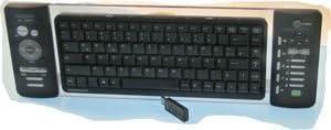 Genius LuxeMate 810 Media Cruiser Media Center inalámbrico de teclado con ratón inalámbricos de puntero