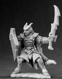 Vaeloth Hellborn Paladin Dark Heaven Legends Miniature by Reaper Miniatures (Dark Paladin Miniatures)