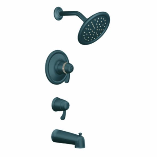 Moen TS3450WR Exacttemp Transfer Tub/Shower, Wrought Iron