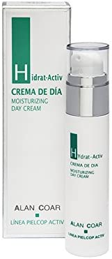 Alan Coar, Hidrat-Activ Hidratante reequilibrante con Aloe Vera SPF 15-50 ml