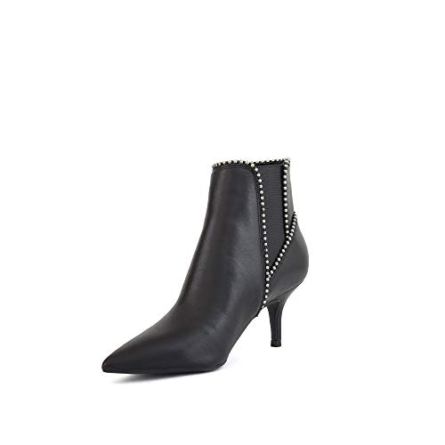 D19gu30 Boot Dainty Nero Mod Ankle Guess Tc Tronchetto Pelle 60 Donna Oqvgg