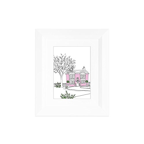 10 Picture Frames (EDGEWOOD Lakewood 8x10 White photo frame with mat for 5x7 picture or 8x10 photo without mat)