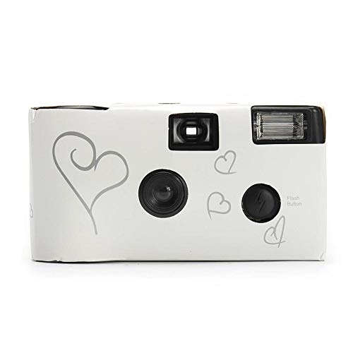 Nicemeet Retro Camera, Disposable Film Camera with Flash Manual Optical Point and Shoot Camera 35MM