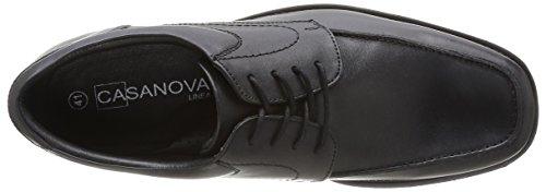 Casa Nova Leufy - Zapatos de cordones Hombre Noir
