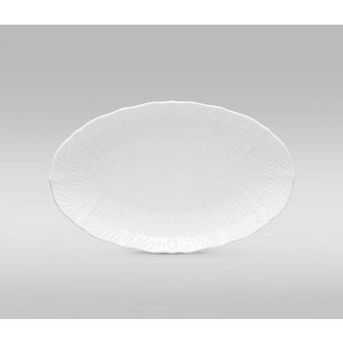 NORITAKE CHER BLANC Oval plate 10 1/2