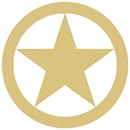 Texas Star Cutout Unfinished Wood Home Decor Lone Star State Door Hanger MDF Shape Canvas Style 1 (6