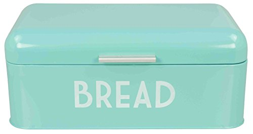 Home Basics Metal Bread Box with (Metal Bread Box)