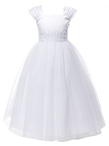 OLIVIA KOO Girls Graceful First Communion Dress (Size 2-16) ()