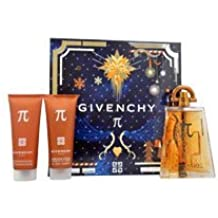 PI by Givenchy for Men - 3 Pc Gift Set 3.3oz EDT Spray, 2.5oz All Over Shampoo, 2.5oz After Shave Balm
