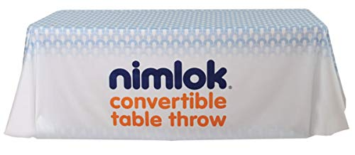 Nimlok Premium Dye Sub Table Throw - Convertible - Full