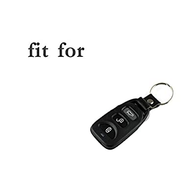 SEGADEN Silicone Cover Protector Case Skin Jacket fit for HYUNDAI KIA 3 Button Smart Remote Key Fob CV4106 Red: Automotive