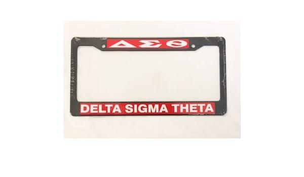 Amazon.com: Delta Sigma Theta Plate Frames: Everything Else