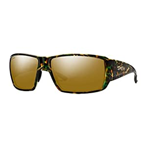 Smith Guides Choice ChromaPop Polarized Sunglasses, Flecked Green Tortoise