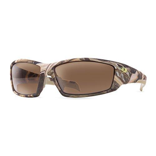 Mossy - anteojos de sol de roble para tren, cuchillas de césped de sombra color café