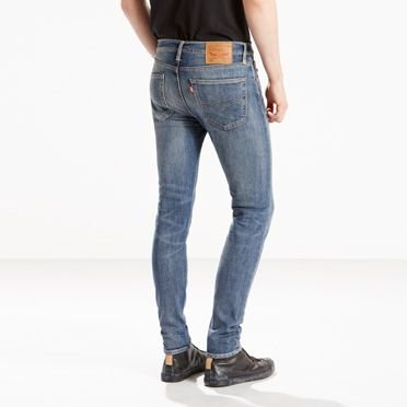 Levi's Herren 519 Extreme Schmal geschnittene Jeans Wildnis, Blau:  Amazon.de: Bekleidung