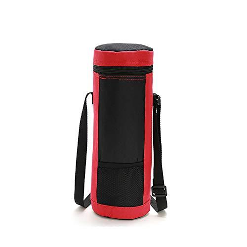 Newhaa Portabottiglie per vino coibentato   Borsa da vino con tracolla, protezione imbottita Borsa da trasporto portatile per frigorifero da viaggio, colore 01 (6L)