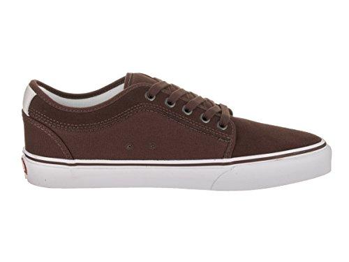 Vans Heren Chukka Lage Skate Schoen French Roast / Wit / Rood