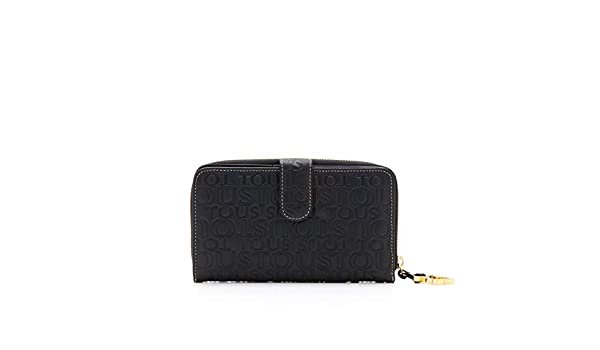 Amazon.com: TOUS Monedero Urbana Logo De Piel, Womens ...