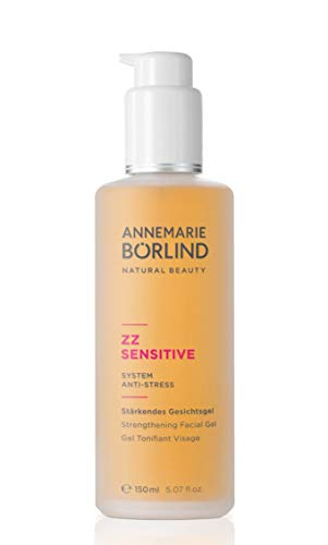 ANNEMARIE BÖRLIND – ZZ SENSITIVE Strengthening Facial Gel – Pre and Probiotic Facial Toning to Strengthen & Nourish Sensitive Skin – Step 2 of 5 - 5 Oz