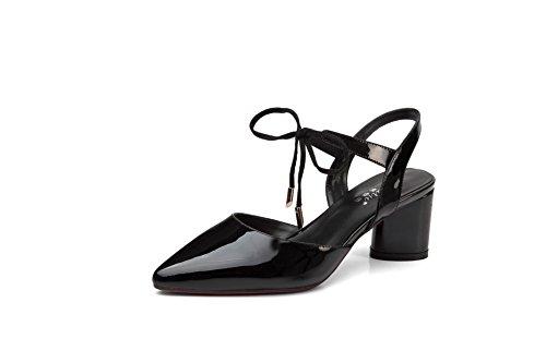 Noir Femme Compensées Noir 5 Sandales 1TO9 36 znU0BSnx