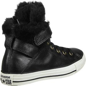Converse All Star Brea Leather Fur Hi W Scarpa black/black