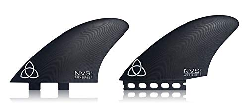 Naked Viking Surf Triton Twin Keel Fins, Apex Series G10, FCS Compatible