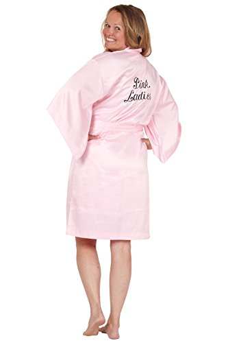 Grease Pink Ladies Kimono Style Robe, Pink, Small