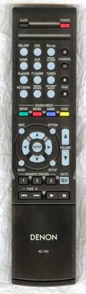 قسمت کنترل از راه دور DENON RC-1181