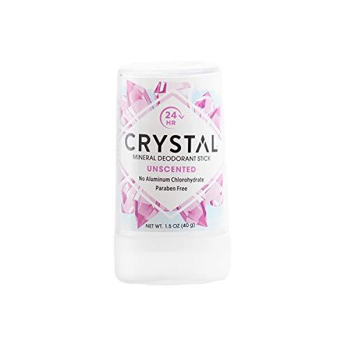 Deodorant Original Total Body (Crystal Mineral Deodorant Travel Stick, Unscented, 1.5 oz)