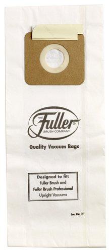 Fuller Brush Vacuum Bag for all Fuller Brush Upright Vacuum Cleaners Except the Fuller Brush Speedy Maid, 6 pack