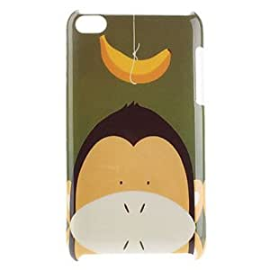 AES - Monkey Pattern Hard Case for iPod Touch 4