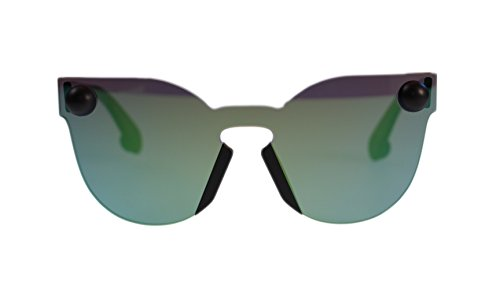 christopher-kane-sunglasses-ck0007s-004-green-with-green-lens-round-99mm-authentic