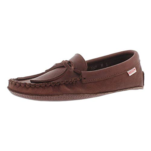 SoftMoc Men's 3107 Double Sole Unlined Moccasin Woodstain 10 M US ()