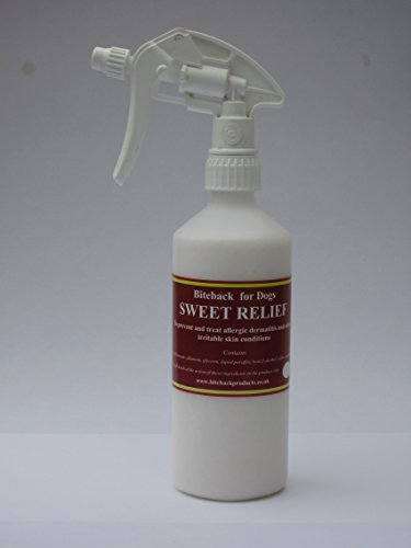 Biteback Products 'Sweet Relief' Soothing Lotion for Itchy Dogs 500ml Spray