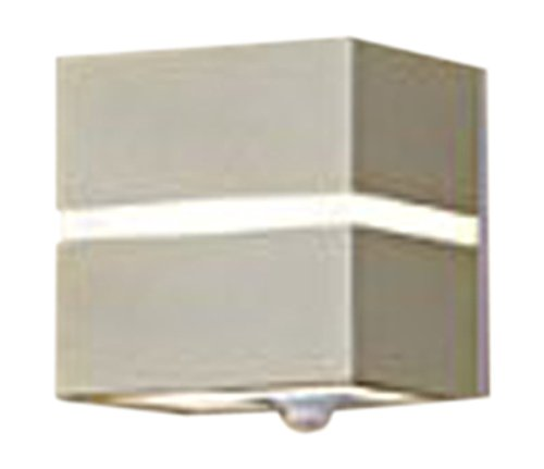 パナソニック(Panasonic) LEDポーチライトFreePaお出迎えシンプルタイマー(直付タイプ) 電球色(プラチナメタリック) LSEWC4019LE1 B012EO0WAW 10297  プラチナメタリック