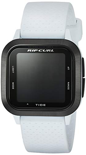 Rip Curl Women's Quartz Sport Watch with Silicone Strap, White, 22 (Model: A1139GWHI1SZ)