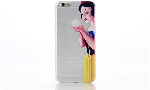 Snow White Apple Logo iphone case