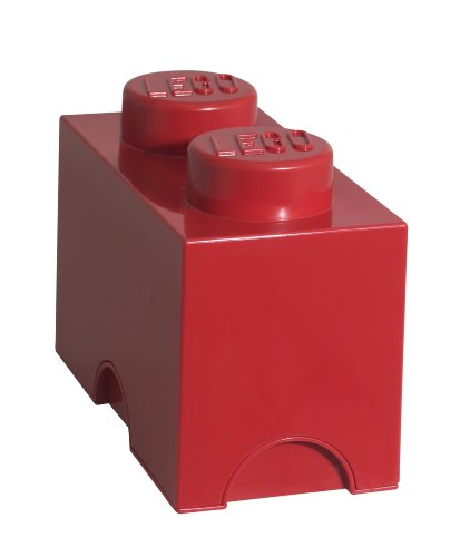 LEGO Storage Brick 2, Red