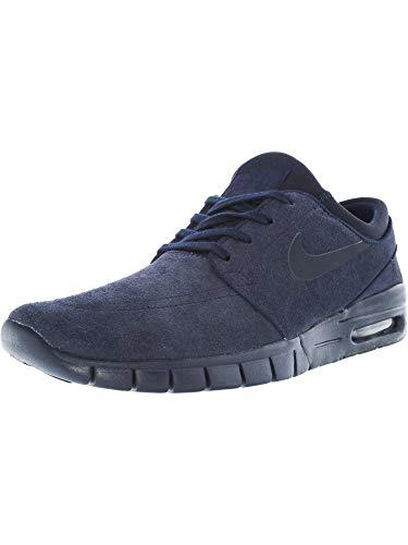 (Nike Men's Stefan Janoski Max L Obsidian/Dark Obsidian Skate Shoe (9))